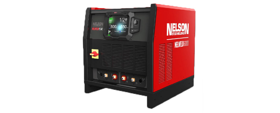 nelweld 4000 and nelweld 6000 stud welding equipment