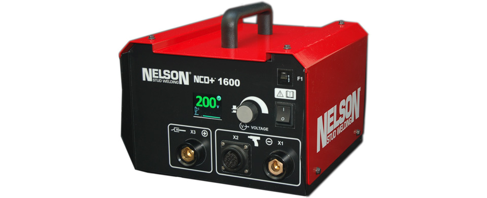 nelson ncd+ 1600 stud welding equipment