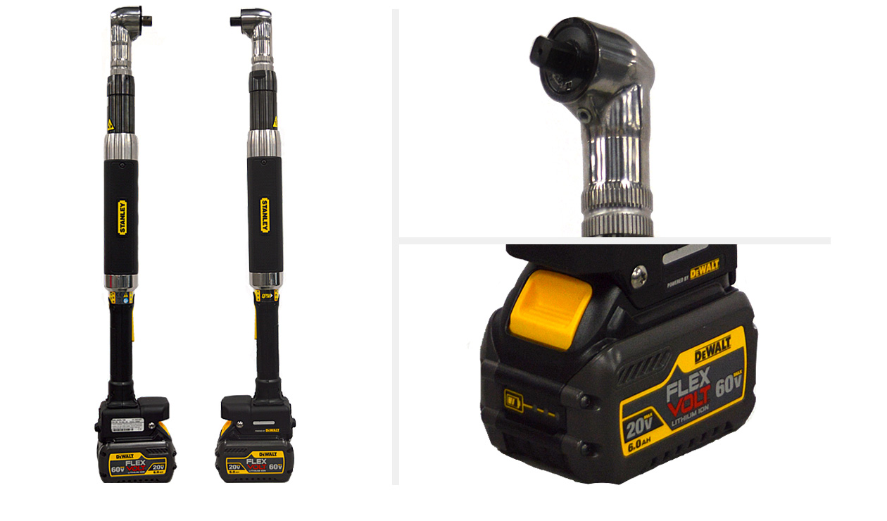Stanley Assembly Technologies Series B Tools - B33L & B44L Cordless Nutrunners