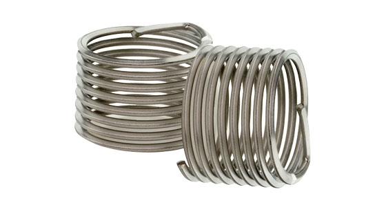 Heli-Coil® 8-pitch wire insert